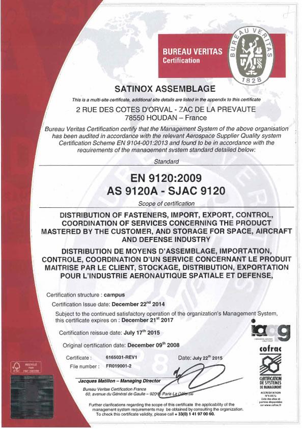 EN 9120 2009 (22-12-2017)